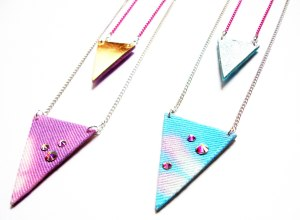 triangle pendants